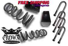 "Crown Suspension 97-03 V8 F150 2""-2"" Lift Coil Block U-Bolts Kit"