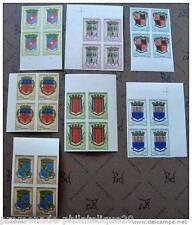 MADAGASCAR timbre-stamp Yvert et Tellier n°388 à 392A non dentelés-Bloc de 4-n**
