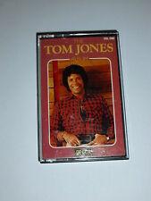 TOM JONES - The Album Vol 1 - 1980 UK 16-track Compilation Cassette