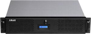 "2U D:14.96"" LCD(6 Low Profile Slots)(ATX)(5.25""+7HDD Bay)Rackmount Door Case NEW"