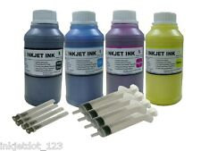 4x250ml Pigment ink for Epson WorkForce 520 545 630 633 635 645 840 845 WF-3520