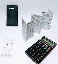 Vintage 80s Sharp El-6250 Dialmaster Multifunction Calculator Dialer Device