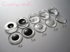 "5 pairs set Takara 12"" Neo Blythe RBL blank transparent eye chips doll Custom"