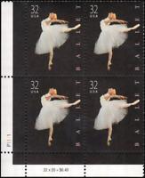 US #3237 MNH plate block of 4