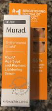 MURAD RAPID AGE SPOT AND PIGMENT LIGHTENING SERUM .33oz/ 08/2022