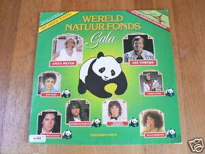 LP RECORD VINYL PANDA BEER WERELD NATUUR FONDS GALA 1981 & TIGER POSTER BIG SIZE