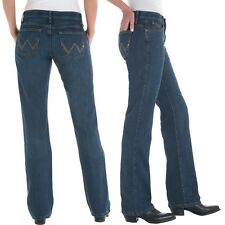 Wrangler Q-Baby Cowgirl Cut WRQ20TB Riding Stretch Jeans - Size 17/18 =Aus 22