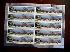 Namibia Stamp Sheet of Elephants 2002.