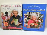 PAULA DEEN COOKBOOK LOT Family AND Friends Living It Up Southern Style Recipes