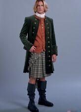 Colonial 18Th-Century Read War Outlander Highlander Pirate Great Coat