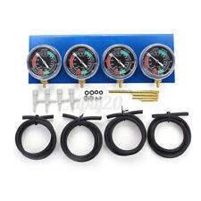 4x Carburatore Bilanciamento Controllo Vacuometro Bilanciere Strumentazione Moto