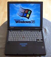 Win 98 Compaq Armada M700, Pentium 2, 192MB, 20GB, Dos, Serial, Parallel. (e500)