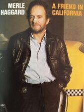 Merle Haggard - A Friend In California - Cassette Tape (C156)