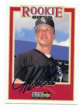 JEFF ABBOTT 1997 UPPER DECK AUTOGRAPHED SIGNED # 469 WHITE SOX
