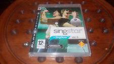 Singstar + Singstore Vol.3 Per Ps3 Usato Testato Canzoni In Italiano