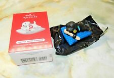 "2017 Hallmark Playful Puppy Surprise Repaint Ornament ""Black Lab"" - BNIB"