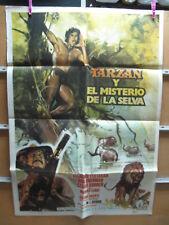A4534 Tarzán y el misterio de la selva José Luis Ayestarán,  Didi Sherman,  Césa
