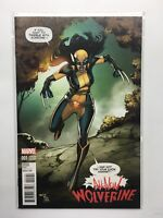 All New Wolverine #1  Marvel Marquez Variant Comic Book