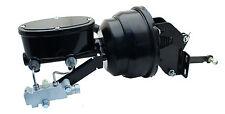 "Mopar B & E Body 8"" Dual Black Power Brake Booster & Wilwood Style Master Kit"