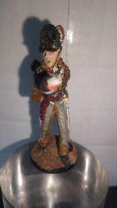 Officer Royal Horse Artillery 1815 Pewter Soldier 54mm Figurine Franklin Mint?