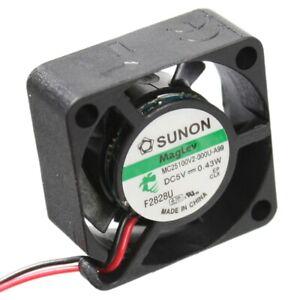 MF25100V2-1000U-A99 Axial-Lüfter 25x25x10mm 5V= 5,09m³/h 16dBA = MC25100V2 Sunon