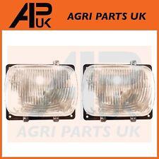 2 x FIAT 100-90,110-90,115-90,130-90,140-90 CASE AVJ Trattore faro proiettore
