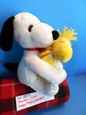 Peanuts Snoopy Hugging Woodstock plush(310-2357)