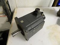 Mitsubishi AC Servo Motor, # HA100CS, w/ Encoder, Used, 90 Day WARRANTY