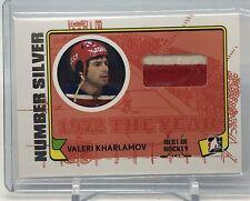 Leaf Best of Hockey Valeri Kharlamov Patch 1/1!