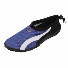 StarBay Aquatic Pool Beach Surf Adjustable Slip-On Shoes Size 8 Color Blue.