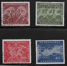 Germany Scott #813-16, Singles 1960 Complete Set FVF Used