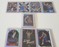 Luka Doncic RC Rookie x8 Bulk Card. 2018/19 NBA Dallas Mavericks