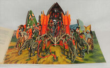 Vintage Panascopic Kubasta Pop-Up Stand-Up Book Voyage Marco Polo 311 Artia 1962