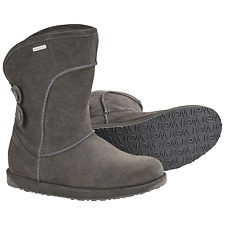 Women's Emu Australia Charlotte Boot Charcoal Size 6 #RJ477-957