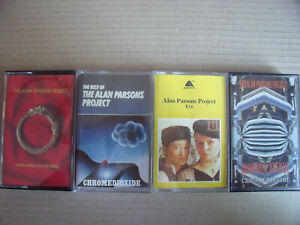 4 x The Alan Parsons Project - Eve, The Best Of, Ammonia Avenue, Vulture Culture