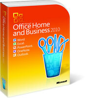 Microsoft Office 2010 Home and Business Vollversion