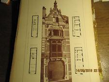 Planche Maison  Rue Digue de Brabant Gand 1891