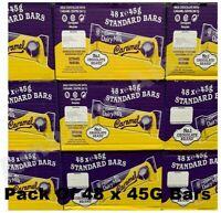 Cadbury Dairy Milk Caramel Chocolate Bar 48x45g Present Treat Gift Box