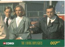 James Bond Corgi Cars Exclusive Trading Card #41 The Living Daylights