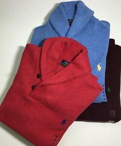 GENUINE POLO Ralph Lauren Shawl Collar Sweater/Jumper PRP £125