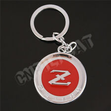 3D DATSUN Z Car Key Ring Key Chains for NISSAN 350Z 370Z Fairlady Z34 Silver&Red