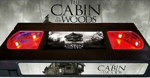 Cabin in the Woods - Retro VHS Lamp +Remote Control - Horror Movie
