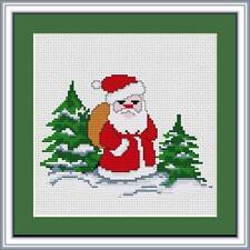 Santa Claus Cross Stitch Kit by Luca S