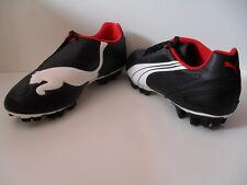 Chaussures de Foot PUMA SPORT en Cuir Noir Blanc Rouge T. 40 NEUVE 119,00 €
