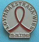 GYMNAESTRADA 1965 in Vienna, - Anstecknadel / PIN zur Identifikation Personal