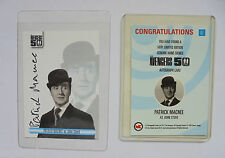 UNSTOPPABLE CARDS The Avengers 50th Patrick Mcknee as John Steed autograph acrd