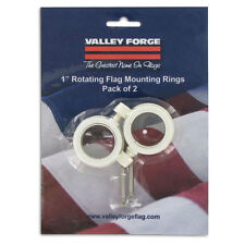 NEW! VALLEY FORGE Flag Mounting Rings 2-Pack! 28219
