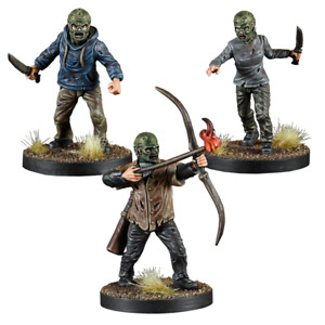 THE WALKING DEAD ,CALL TO ARMS: WHISPERERS BOOSTER - MANTIC