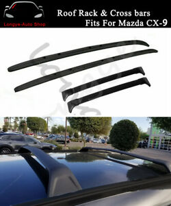 Fits for Mazda CX-9 CX9 2016-2021 Roof Rack Rail Carrier Crossbar Cross bar kit