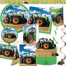 BAUERNHOF KINDERGEBURTSTAG - Geschirr Deko Traktor Kinder Geburtstag Party Farm